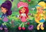 لعبة تلوين فراولة والاصدقاء