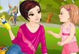 لعبة تلبيس ماما الحنونة