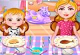 العاب طبخ العشاء للاطفال