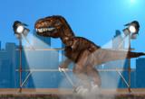 لعبة هروب الديناصور الضخمة