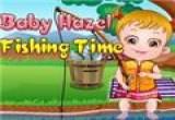 لعبة بيبي هازل تصيد السمك