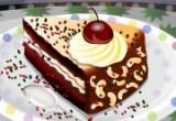 لعبة تزيين الكيكة بالشوكلاتة