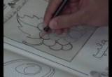 لعبة تعليم الرسم علي الورق