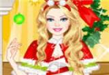 لعبة تلبيس باريي ملابس بابا نويل
