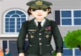 لعبة تلبيس ملابس الشرطة
