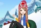 لعبة تلبيس ملابس الشتاء