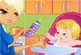 لعبة طبخ الام وابنتها
