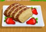 لعبة طبخ الكيك بالفراولة