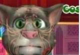 لعبة جراحة وجه القط الناطق توم