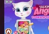 لعبة جراحة معدة القطة الناطقة انجيلا