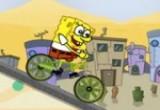 لعبة دراجة سبونج بوب الجديدة