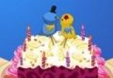 لعبة اعداد كعكة الموز بالزبادي