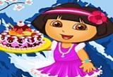 لعبة طبخ كعكة دورا الملكة