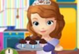 لعبة طبخ الكعكة مع صوفيا