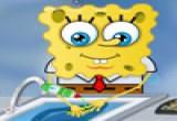 لعبة سبونج بوب يغسل الصحون
